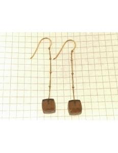 ORECCHINI ORO GIALLO - Oreccini Donna Pendenti Oro Giallo 18 kt Carati Ct 750 COMETE GIOIELLI