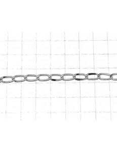 BRACCIALI BIMBI - Bracciale Braccialetto Bambino Bimba 14,0 Cm Oro Bianco 18 Kt Carati 750 1,15Gr