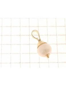 PENDENTI ORO GIALLO - Ciondolo Pendente Donna Oro Giallo 18 Kt Carati Ct 750 1,0 Gr Perla