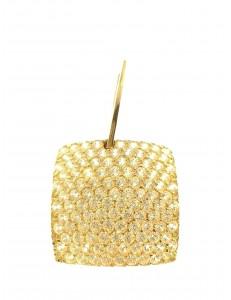 PENDENTI ORO GIALLO - Ciondolo Pendente Donna Ragazza Oro Giallo 18 Kt Carati Ct 750 3,0 Gr