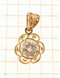 PENDENTI ORO GIALLO - Ciondolo Pendente Donna Oro Giallo 18 Kt Ct Carati 750 2,10 Gr