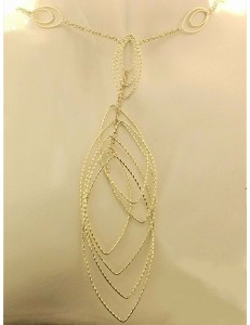 Collana Girocollo Collier Donna Oro Giallo 18 kt Carati Ct 750 11,10 Gr