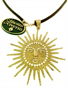 Collana Catenina Girocollo Donna Oro Giallo 18 Kt Carati Ct 750 8,50Gr Pendente