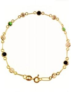 Bracciale Braccialetto Donna Oro Giallo 18 Kt Carati Ct 750 3,70 Gr