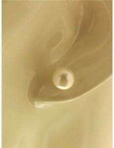 ORECCHINI PERLE - Donna Oro Giallo 18 Kt Carati Ct 750 1,55 Gr