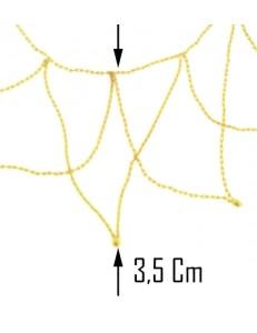 COLLANE ORO GIALLO - Collana Girocollo  Donna Oro Giallo 18 Kt Carati Ct 750 5,90 Gr Bavetta