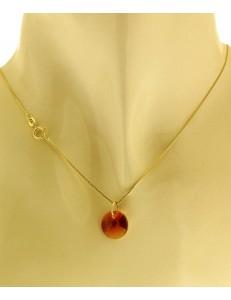 Collana della Fortuna In oro Giallo Donna 18 Kt Carati Ct 750 1,10Gr