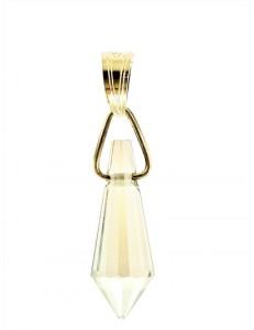 Ciondolo Pendente  7 colori oro Giallo Donna 18 Kt Carati Ct 750 0,7 Gr