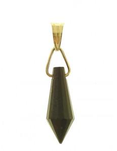 PENDENTE TRASPARENTE - oro Giallo Donna 18 Kt Carati Ct 750 0,7 Gr