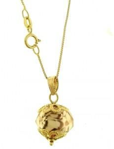 Collana Catenina Donna Oro Giallo 18 Kt Carati Ct 750 2,70 Gr