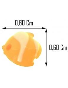 ORECCHINI BIMBA - Orecchini Oro Giallo 18 kt Carati Ct 750 0,65 Gr  Pesciolini Bambina Donna
