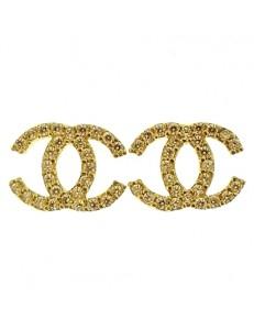 Orecchini Donna Oro Giallo 18 kt Carati Ct 750 1,80 Gr Zirconi