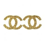 Orecchini Donna Oro Bianco 18 kt Carati Ct 750 1,80 Gr Zirconi