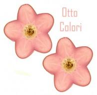 Orecchini Perle Bimba Bambina oro Giallo 18 Kt Carati Ct 750 0,65 Gr Otto Colori