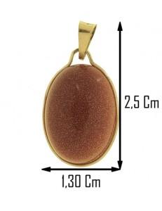 COLLANA CABOCHON ARENARIA AUREA - Donna Oro Giallo 18 Kt Carati Ct 750 3,5 Gr