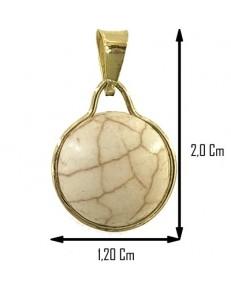 COLLANA CABOCHON- Donna Oro Giallo 18 Kt Carati 750