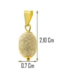 Ciondolo Pendente Donna Ragazza Oro Giallo 18 Kt Carati Ct 750 0,65 Gr