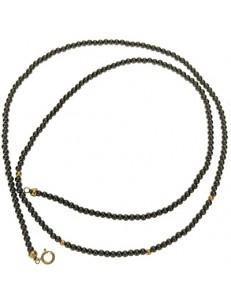 Collana Catena Catenina 50 Cm  Uomo Donna Oro Giallo 18 KT Carati Ct 750 6,5 gr