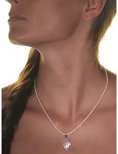 PENDENTI ORO GIALLO - Ciondolo Pendente Uomo Donna Oro Giallo 18 Kt Carati Ct 750 Mano Di Fatima 1,25g